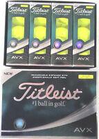 TITLEIST AVX 2018 YELLOW GOLF BALLS 1X12  BRAND NEW IN BOX