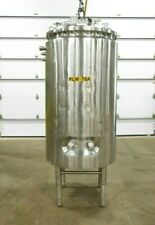 Mo-3296, Dci 1000 Liter Stainless Jacketed Tank. 316 Ss.