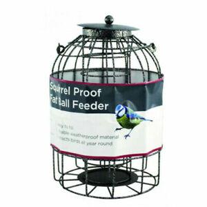 Squirrel Proof Bird Fat Ball Feeder, Feeding Station, Bird Food