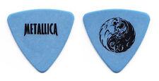 Metallica Jason Newsted Yin Yang Blue Bass Guitar Pick - Small Print - 1998 Tour