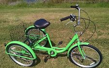 Multi Speed Adult Tricycle Brand New Big Seat & Basket Many Colors To Pick From!
