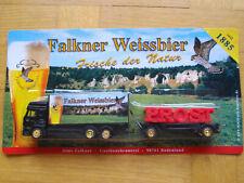 Brauerei Falkner Weissbier Iveco HZ in 1:87 mit Schriftzug Prost auf Hänger