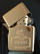 Zippo SURVIVAL GEAR/Überlebensausrüstung, Messing/brass, 1937er Replica