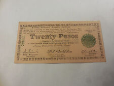 Philippines Emergency Currency Negros Twenty Pesos - Pink Paper - # 20683