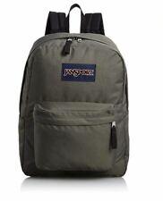 Jansport Superbreak Mens & Womens Backpacks Rucksack Dark Grey