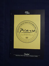 Artis Orbis - Homage Collection to Pablo Picasso  -  Katalog von Goebel