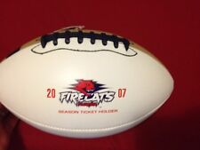 07 Florida Firecats AFL2 ARENA FOOTBALL Team Roster Spalding Official Auto Ball