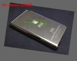 Metal Back Housing Case Cover panel for iPod  classic 120gb