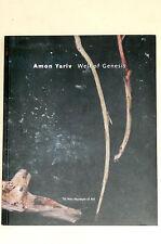 AMON YARIV Well of Genesis Catalogue Tel Aviv Museum of Art 2007 ISRAËL Photos