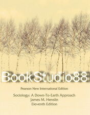 NEW 3 Days 2 US / CA Sociology A Down To Earth Approach 11E Henslin 11th Edition