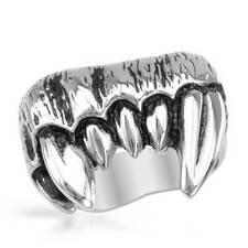 Vampire Fangs Gentlemens Ring in Stainless steel
