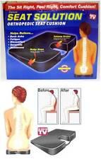 Deluxe Sitz Desinfektionslösung Orthopädisch Sitzkissen und Back Support As
