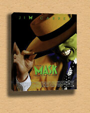 """The Mask Action Comedy Crime Jim Carrey FILM007 Framed Canvas Print A2-16"""" x 24"""""""