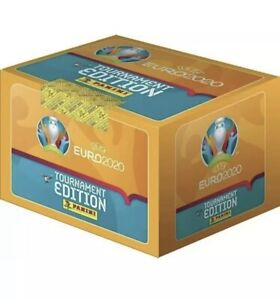 Panini UEFA Euro 2020 Tournament Edition Stickers. 50 Packets Of Stickers