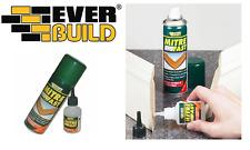 More details for everbuild mitre fast superglue 50g & activator 200ml super glue bonding kit