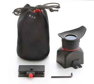 Displaylupe für DSLR Kamera