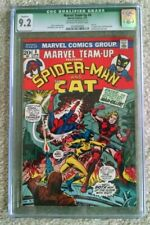 MARVEL TEAM-UP #8 CGC 9.2 SPIDER-MAN AND THE CAT - 1ST APPEARANCE OF MAN-KILLER!