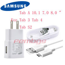 New Original Samsung Galaxy Tab 3 Tab 4 ,Tab A ,Tab S2 OEM Wall Adapter Charger