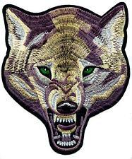 Wolf écusson patch Back BIKER Indien Canis lupustimberwolf xxl