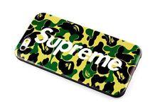 Fashion Brand Supreme X Bape iPhone 6plus/6splus Army Case