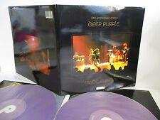 DEEP PURPLE made in japan 25th anniversary edition 2LP Colored Vinyl UK EMI /