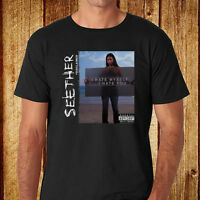 New Seether Disclaimer Rock Band Men's Black T-Shirt Size S-3XL Free Shipping