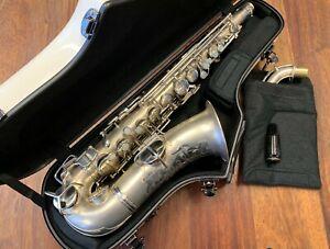 "Vintage CONN ""Chu Berry"" Alto Saxophone - Nr 122914 - Pro Pad Repadded PERFECT"