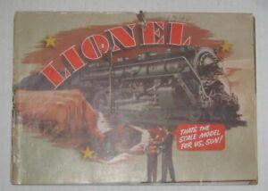 Vintage 1940  LIONEL ELECTRIC TRAINS CATALOG