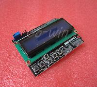 5PCS1602LCD Board Keypad Shield Blue Backlight For Arduino LCD Duemilanove Robot