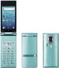 Used Softbank Sharp 007SH Aquos Hybrid Android Phone (Blue) Unlocked