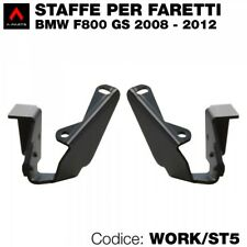 Kit 2 staffe per BMW F650 GS 06>12 e F800 GS 08>12 per montaggio faretti led