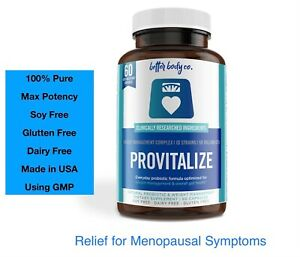 PROVITALIZE -Probiotic The One You Love ❤️ Bloating, Hot Flashes, Low Energy