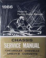1966 Chevy Bel Air Corvette Chevelle Impala Nova SS Factory Shop Service Manual
