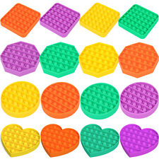 Push Pop It Silicone Sensory Fidget Toy Anxiety Stress Relief Pop Bubble Game