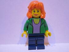 Lego Super Heroes Spiderman MARY JANE minifigure lot 4851 100% REAL LEGO BRAND