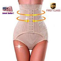 US Slimming Waist Trainer Body Shaper Underbust Jumpsuit Womens Hot Romper M-3XL