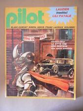 PILOT n°9 1982 Rivista Fumetti - Lauzier Inedito [MZ6-3]