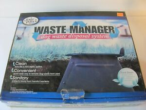 Four Paws Waste Manager Dog Waste Disposal System