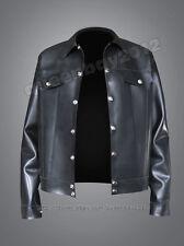 Neu!! 100% Latex Rubber Gummi 0.8mm Jacke Jeans Hemd Top Shirt Ganzanzug Anzug