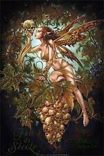 """Skull & Fairy POSTER """"Fantasy, Maple Leaf, 61x91cm"""" BRAND NEW Licensed Art"""