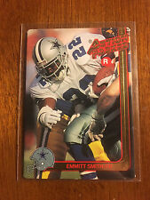 1991 Action Packed Emmitt Smith Rookie Prototype Rare Dallas Cowboys SP Promo