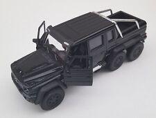 Livraison rapide MERCEDES G 63 AMG 6x6 Noir Black welly modèle auto 1:34 nouveau OVP