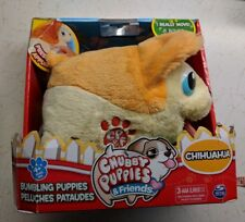 Chubby Puppies & Friends Bumbling Plush Chihuahua by Spin Master New in Box