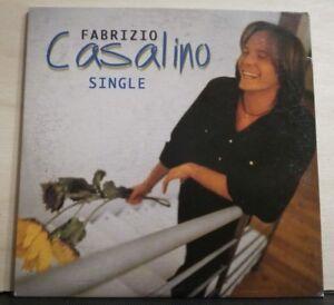 FABRIZIO CASALINO - SINGLE 3,57 -cdsingolo  cardsleve - PROMOZIONALE 1998