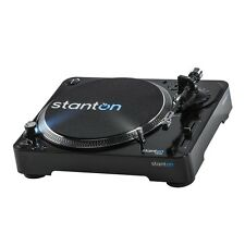 Stanton T.62 M2 Direct Drive DJ Turntable Deck Vinyl Record Player with Software