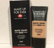 Make Up For ever Matte Velvet Skin Full Coverage Foundation R330 Warm Ivory NIB