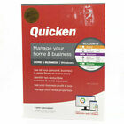 QUICKEN HOME & BUSINESS 2021 LATEST RELEASE W/ CD INSIDE FOR WINDOWS ONLY , NEW