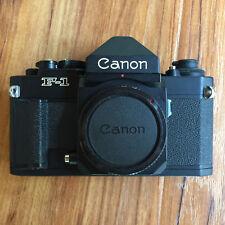 Canon F-1N F-1 new F1 35mm SLR Film Camera Body w/ Eye Level Finder FN
