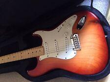 OFFER : USA Fender American Standard Stratocaster Sunburst in a  Case