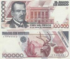 Mexico: $ 100,000 Pesos Plutarco Elias Calles Sep 2, 1991.